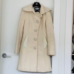 Mackage XS cream coat